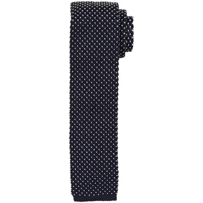 Ascot Knitted Silk Tie