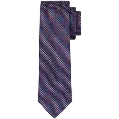 Henry Bucks Basket Weave Silk Tie