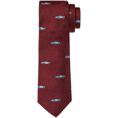 RICHARD ATKINSON-Atkinson Sports Car Silk Tie-Henry Bucks