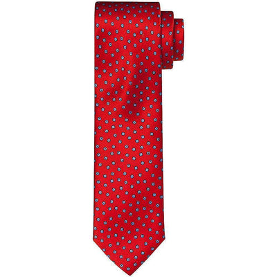 Henry Bucks-Henry Bucks Scattered Square Silk Tie-Henry Bucks