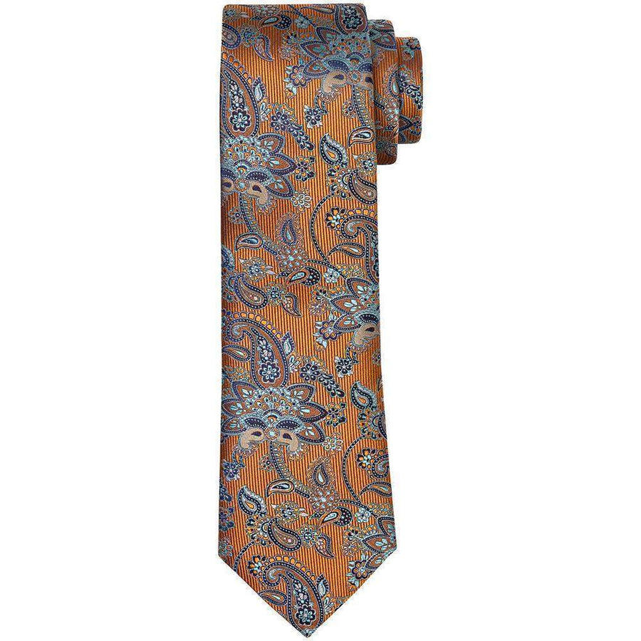 Canali Classic Paisley Silk Tie