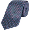 CANALI GEO EMBROID SILK TIE