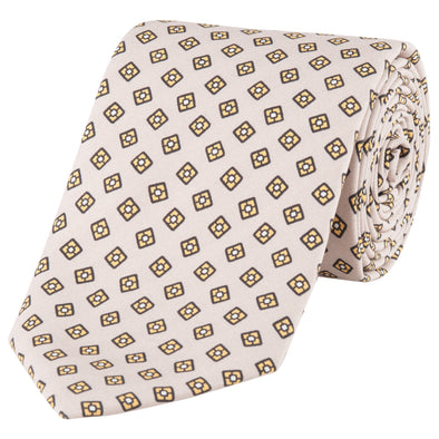 DRAKES GOLD SQUARE TIE