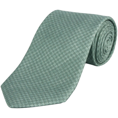 Paolo Albizzati HOUNDSTOOTH PRINTED TIE