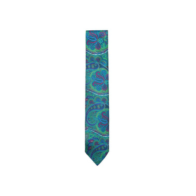 ASCOT OF GERMANY SPRAWLING PAISLEY TIE