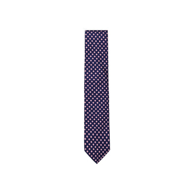 ASCOT OF GERMANY FLOWER MOTIF TIE