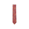 ASCOT FLORAL PAISLEY SERIES RED TIE