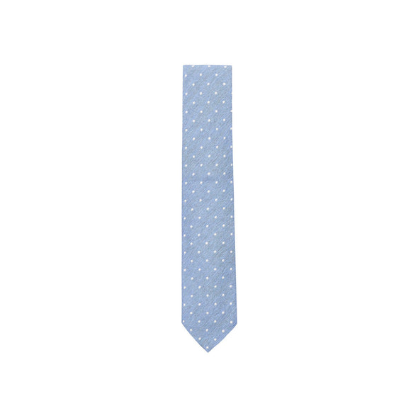 HENRY SARTORIAL CLASSIC WOVEN DOT SILK TIE
