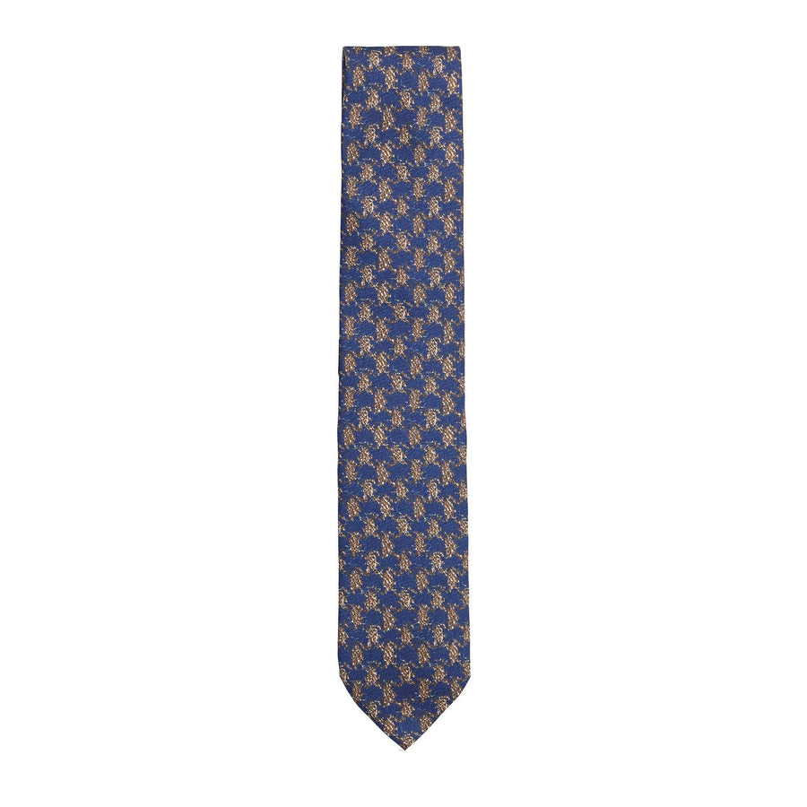 CANALI SCREEN PRINTED TIE