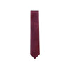 ERMENEGILDO ZEGNA PATTERNED SILK TIE - RED
