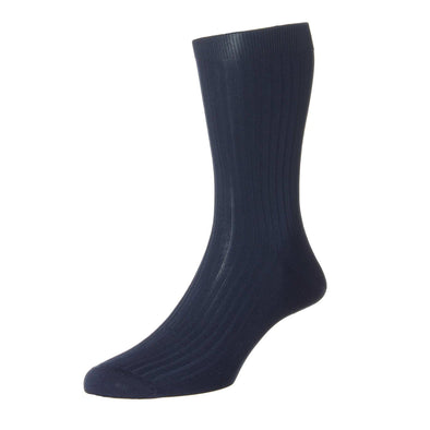 PANTHERELLA PURE COTTON RIB SOCK