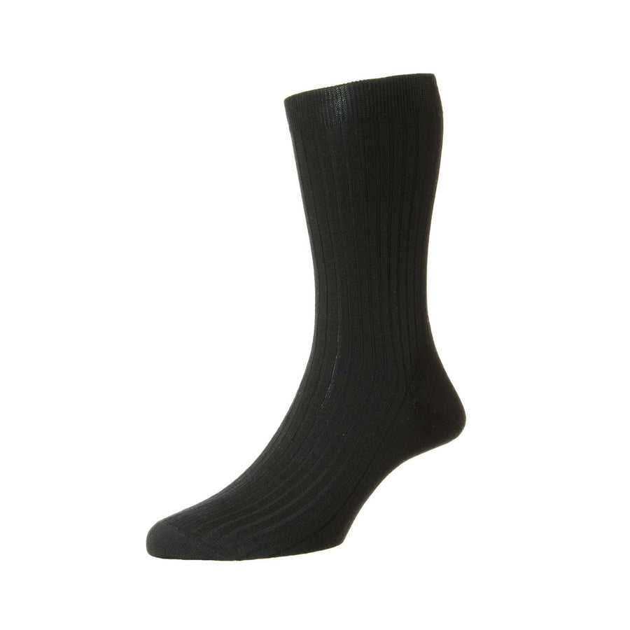 PANTHERELLA WOOL RIB SOCKS