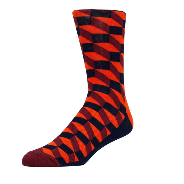 HAPPY SOCKS - FILLED OPTIC RED & BLACK