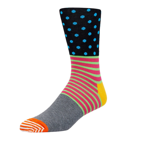 HAPPY SOCKS - STRIPE & DOT