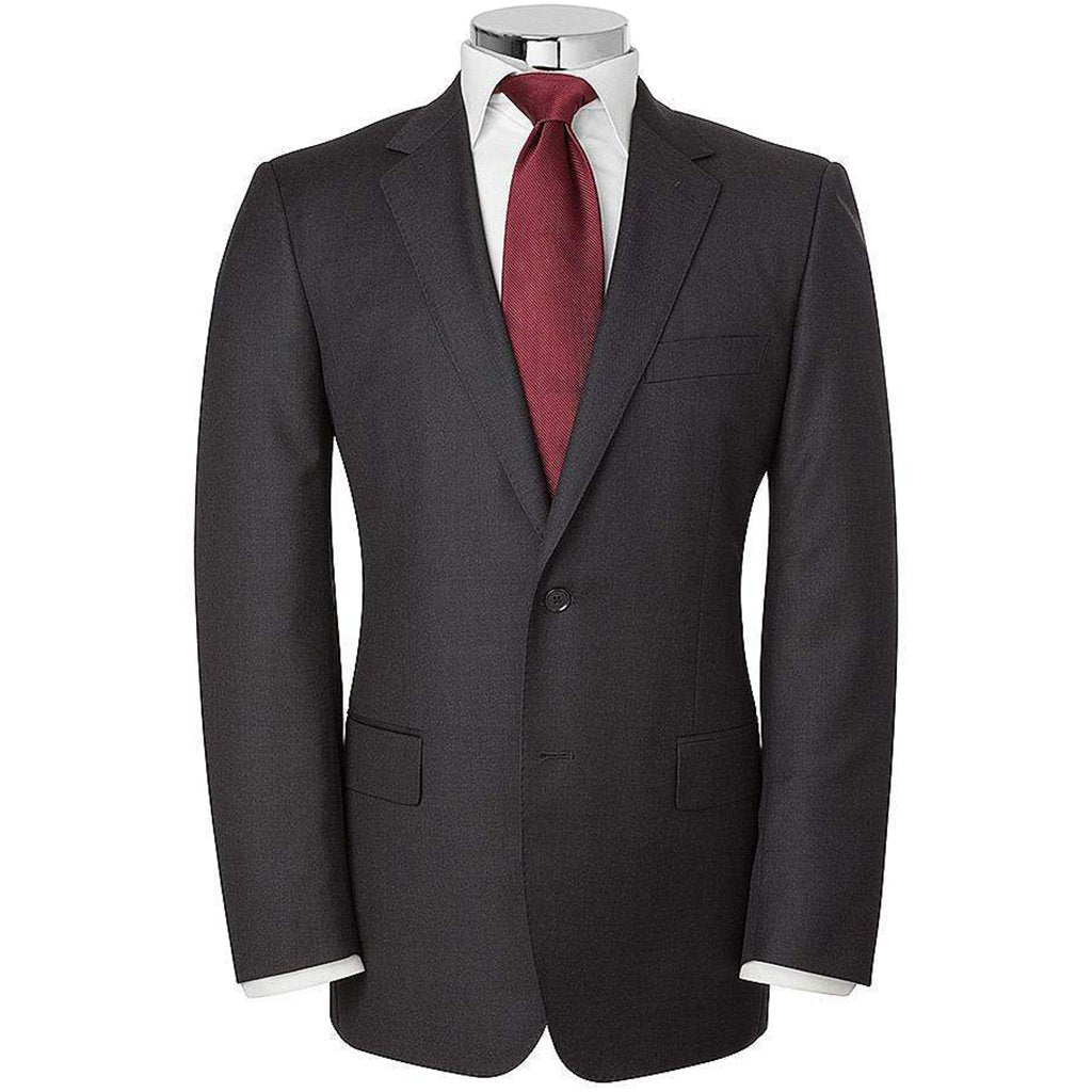 35057e1ad4 HB 1890 Plain Twill Single Breasted Wool Suit