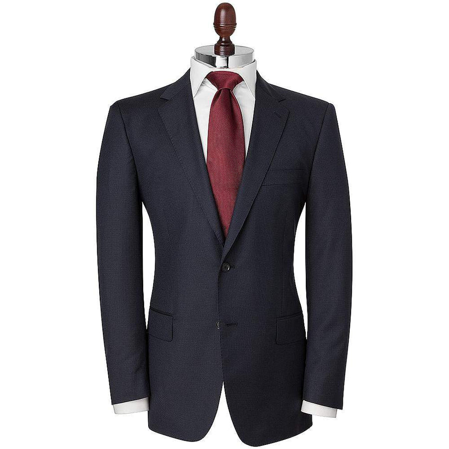 HB 1890 Subtle Stripe Single Breasted Wool Suit