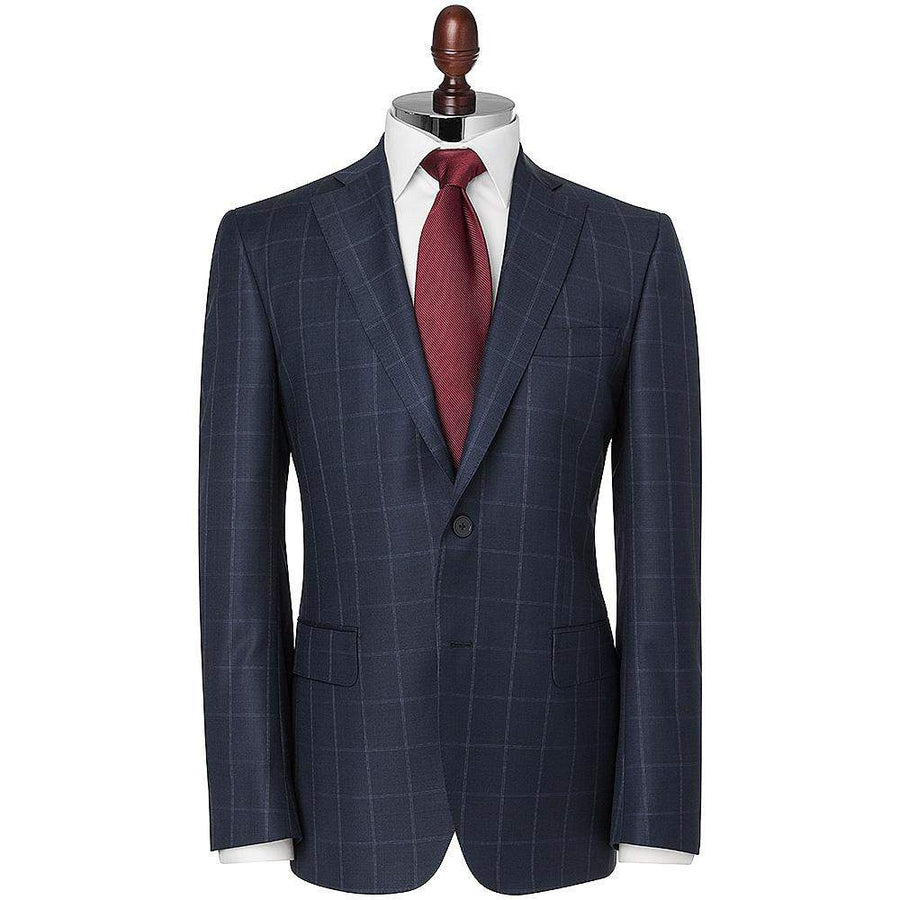 Henry Large Check Slim Fit Wool Suit