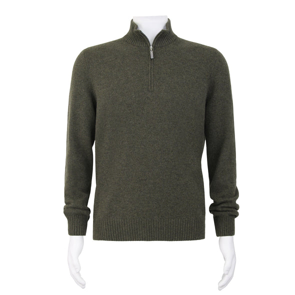 GRAN SASSO CASHMERE KNITWEAR OLIVE
