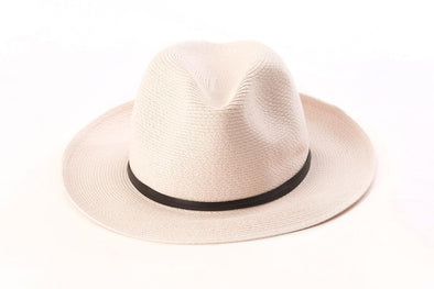 BORSALINO SUMMER HAT  POWDER ROSE