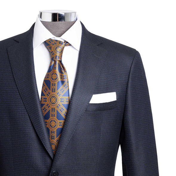 HENRY SARTORIAL FLANNEL SUIT