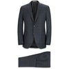 HENRY CHARCOAL PLAID SUIT