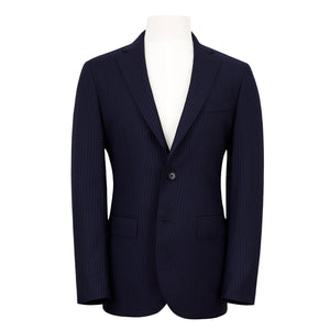 HENRY SARTORIAL NAVY STRIPED SUIT