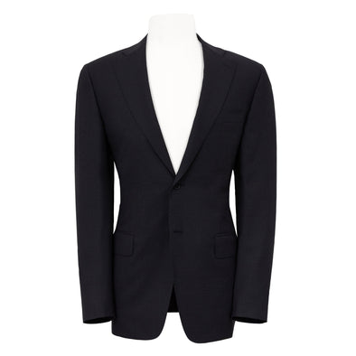 CANALI PRINCE OF WALES SUIT - CHARCOAL