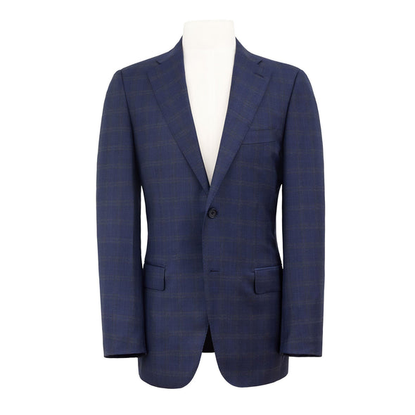 HENRY SARTORIAL X DORMEUIL NAVY & BLUE CHECK SUIT