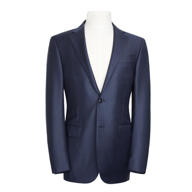 ZEGNA  2 PC SUIT TROFEO PINDO  NAVY REG