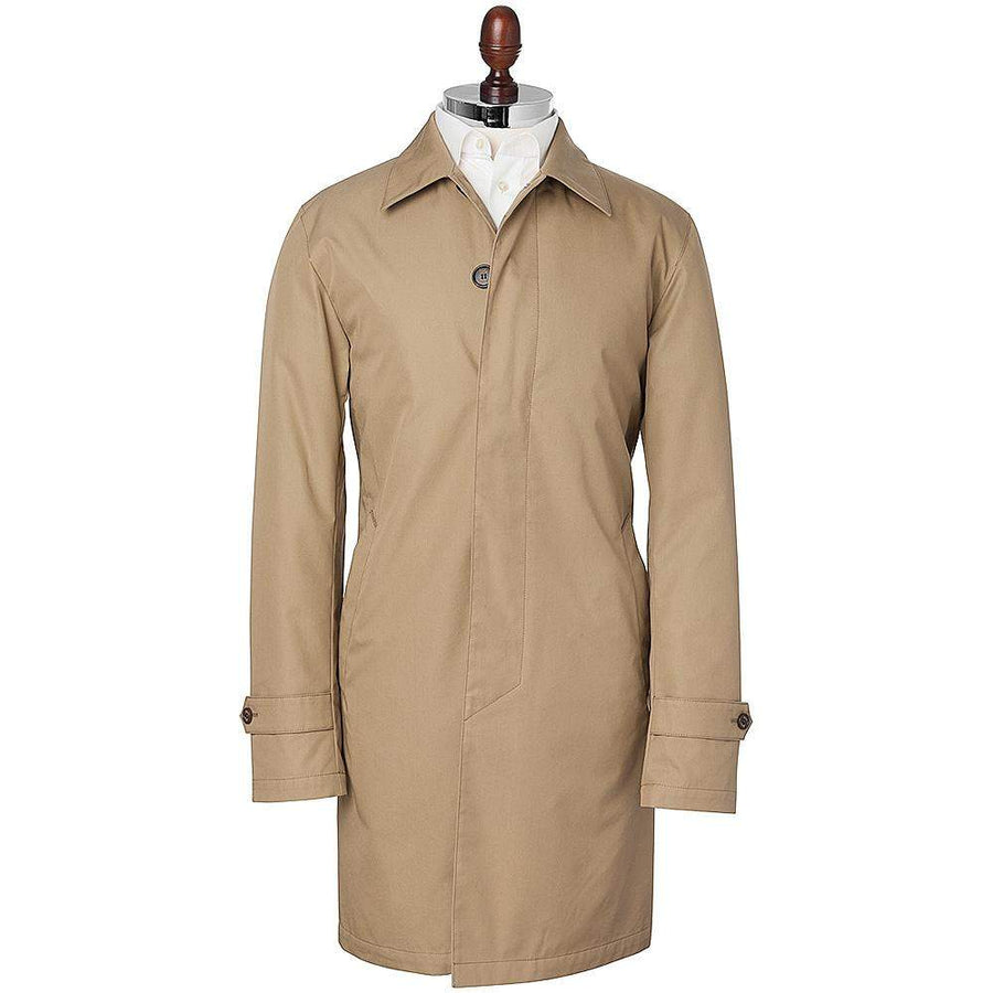 Sealup Short Cotton Trench Coat