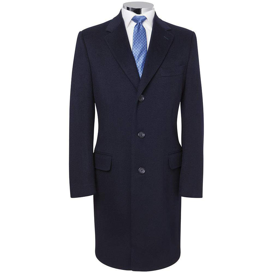 Canali-Canali Pure Cashmere Overcoat-Henry Bucks