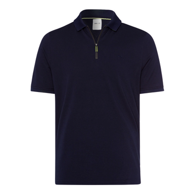 BRAX PERCY QUARTER ZIP POLO