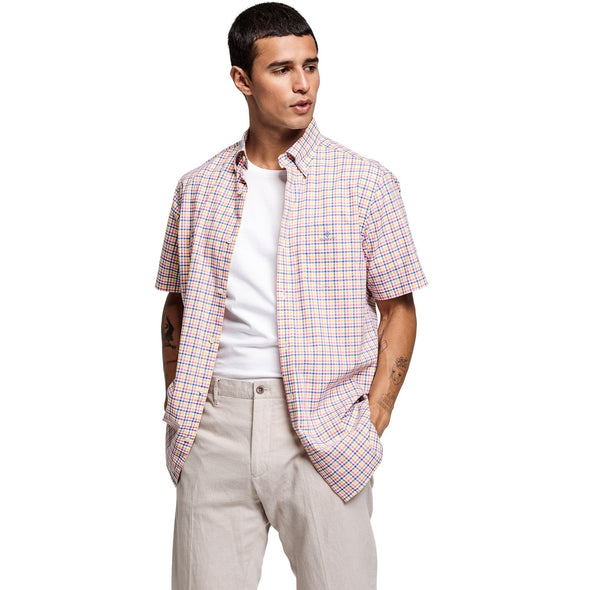 GANT COLOUR GINGHAM S/S SHIRT
