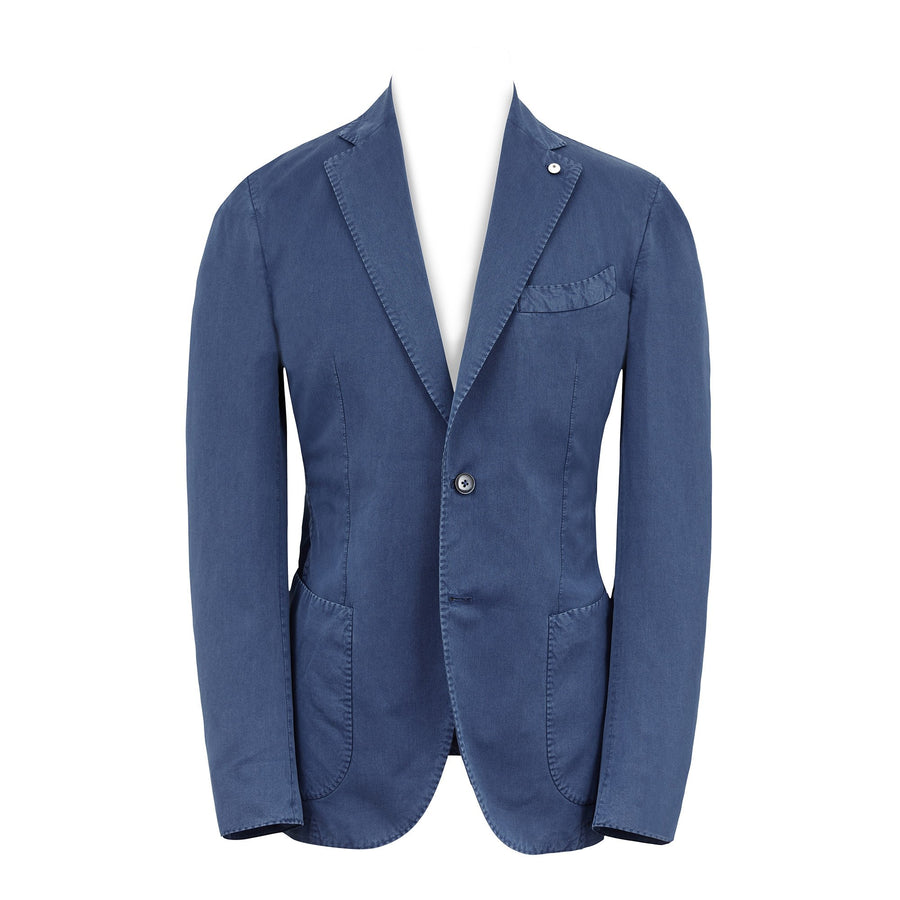 L.B.M 1911 TWILL BLAZER ROYAL BLUE