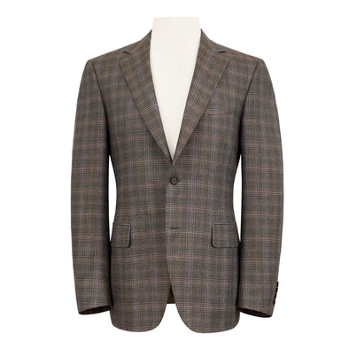 CANALI GLEN CHECK JACKET