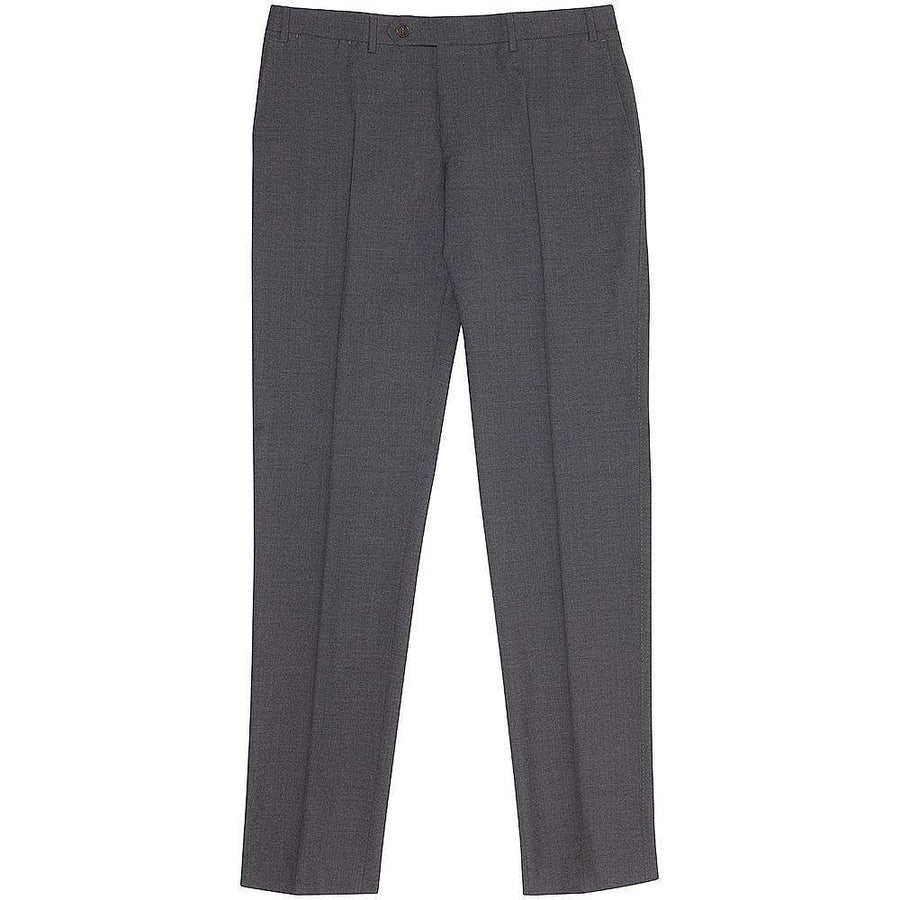 Canali Tropical Wool Formal Trousers