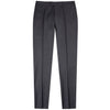 Canali Wool Charcoal Trouser