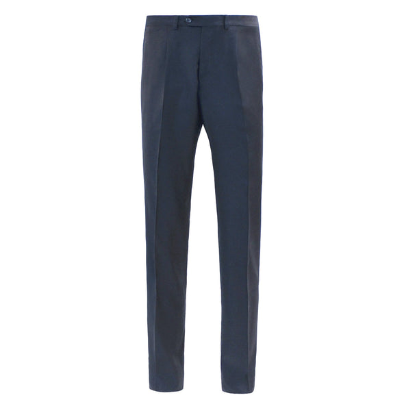 HB TWILL WOOL 1P TROUSER CHARCOAL REG