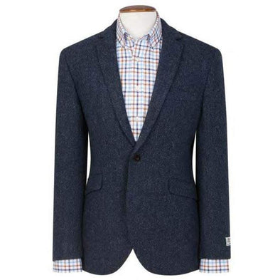 HARRIS TWEED HERRINGBONE BLAZER