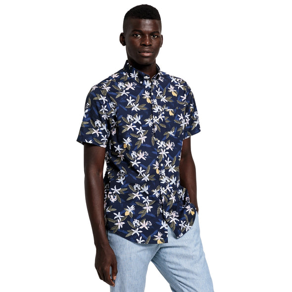 GANT LEMON FLOWER S/S SHIRT