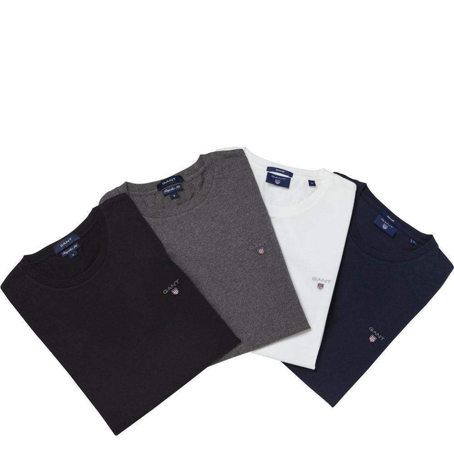 GANT-Gant ASR Solid Cotton T-Shirt-Henry Bucks