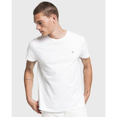 GANT ASR SOLID COTTON T-SHIRT