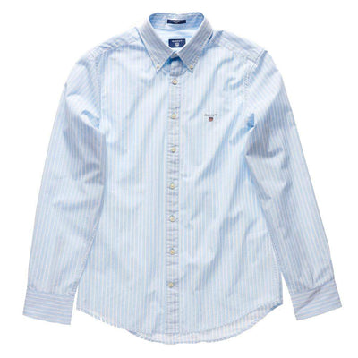 GANT-Gant Tech Prep Stripe Button-Down Cotton Shirt-Henry Bucks