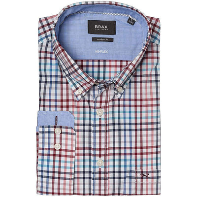 Brax Hi-Flex Multi Check Cotton Shirt