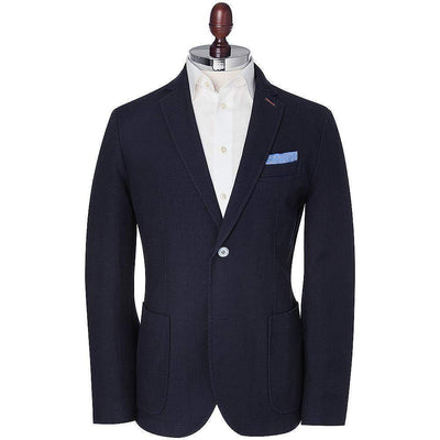 BRAX-Brax Structure Garment Dyed Cotton Blazer-Henry Bucks