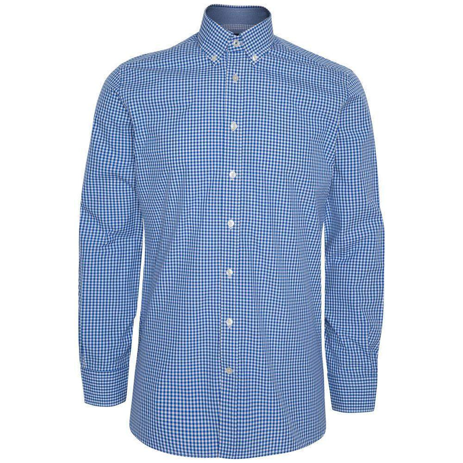 Hackett Gingham Check Cotton Shirt