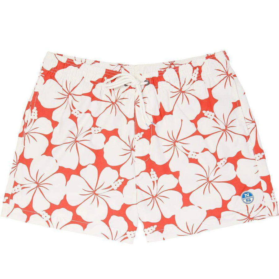 North Sails Hibiscus Printed Volleyball Short