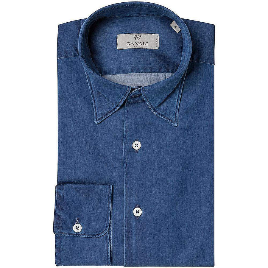 Canali SOFT CHAMBRAY SHIRT