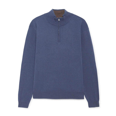 Hackett-Hackett Half Zip Jumper-Henry Bucks