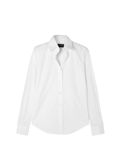 EMMA WILLIS WOMENS WHITE SHIRT WHITE